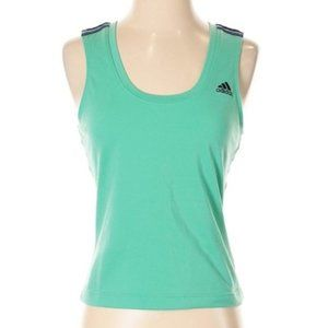 ADIDAS Green Active Wear Athletic Workout Top